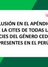 Vista preliminar de documento Inclusión en el Apéndice II de la CITES de todas las especies del género cedrela presentes en el Perú
