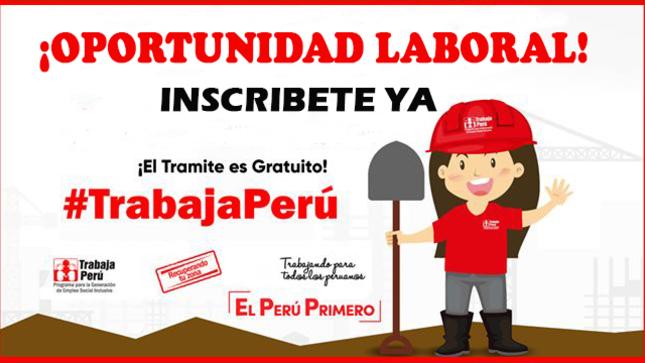 LA MUNICIPALIDAD DISTRITAL DE TATE Y TRABAJA PERÚ