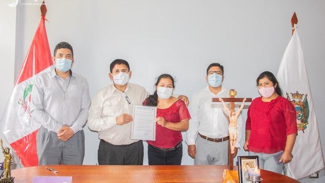 JANGAS TUVO SU PRIMER MATRIMONIO CIVIL EN MEDIO DE PANDEMIA POR CORONAVIRUS