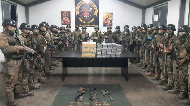 VRAEM: FUERZAS DEL ORDEN CAPTURAN A PRESUNTOS NARCOTERRORISTAS EN AYACUCHO