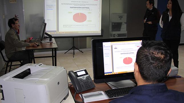 Utilizarán Voto Electrónico No Presencial de la ONPE para elegir miembro del JNE