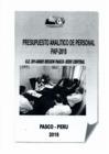 Vista preliminar de documento PRESUPUESTO ANALÍTICO DE PERSONAL  (PAP)