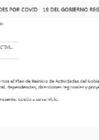 Vista preliminar de documento PLAN DE REINICIO DE ACTIVIDADES