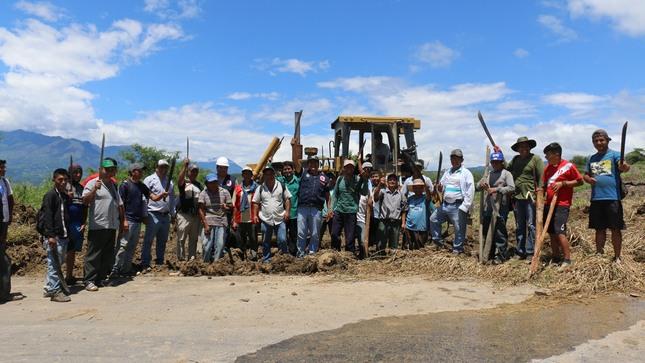 >>POR GESTIONES DEL ALCALDE DE UTCUBAMBA SE EJECUTARÁ MEJORAMIENTO DE 21 CAMINOS VECINALES EN LA PROVINCIA.