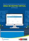 Vista preliminar de documento Guía de presentación de documentos en Mesa de partes virtual del Sineace