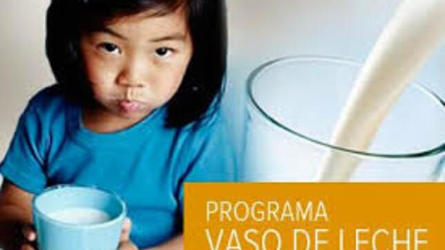COMUNICADO: Programa Vaso de leche