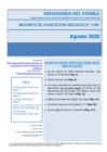 Vista preliminar de documento Reporte Mensual de Conflictos Sociales N° 198 – agosto 2020