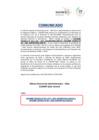 Vista preliminar de documento Comunicado para disposición final de  bienes dados de baja por causal de RAEE (092020-1)