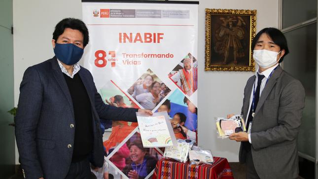 MIMP: NIÑOS Y NIÑAS CON DISCAPACIDAD DEL INABIF RECIBEN DONACIÓN DE MASCARILLAS DE LA AGENCIA KOICA