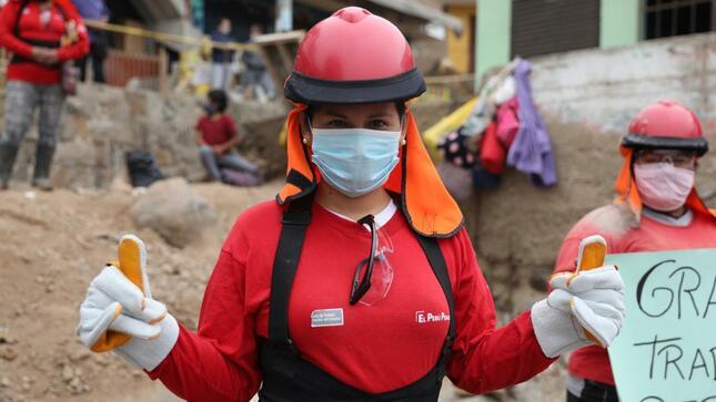 Ministro Palacios: 70 % de participantes en Trabaja Perú está compuesto por mujeres a nivel nacional