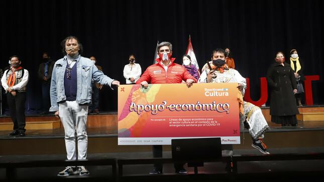 Ministerio de Cultura: 4081 trabajadores de la cultura son beneficiados con apoyo económico