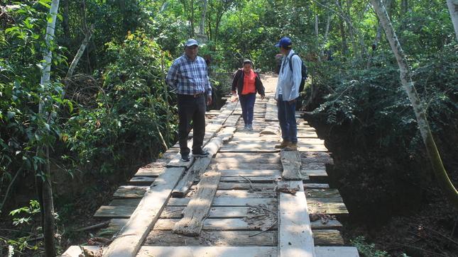 Burgomaestre Tahuaniense Participa en los 54 Años de Creacion Politica de la Comunidad Nativa de Shahuaya.