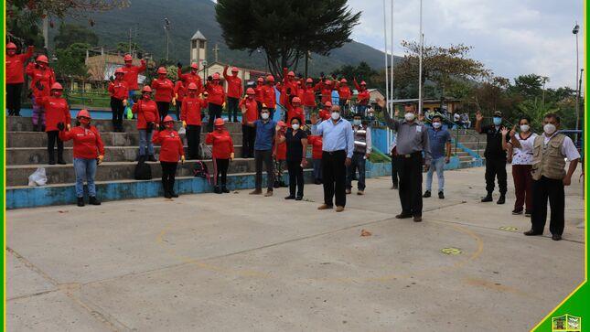 En Marcha, II Etapa de las Actividades de Intervención Inmediata gracias al Programa Trabaja Perú