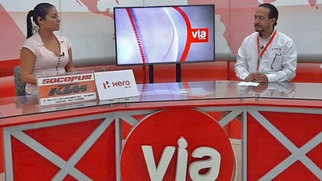 SUNAFIL lanzará microprograma en región San Martín luego de suscribir convenio de cooperación con Vía Televisión S.A.C.