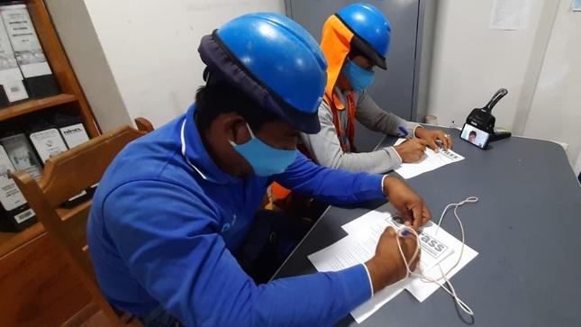 Capacitan a 621 operarios de 23 entidades prestadoras con cursos virtuales sobre seguridad y salud en el trabajo