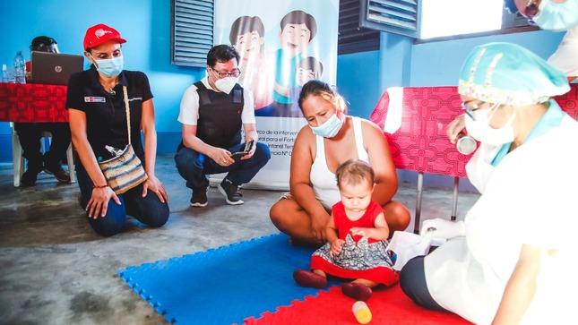 Ministra Donayre supervisó en Loreto la atención de su sector a comunidades indígenas, adultos mayores, personas con discapacidad y primera infancia en la emergencia sanitaria