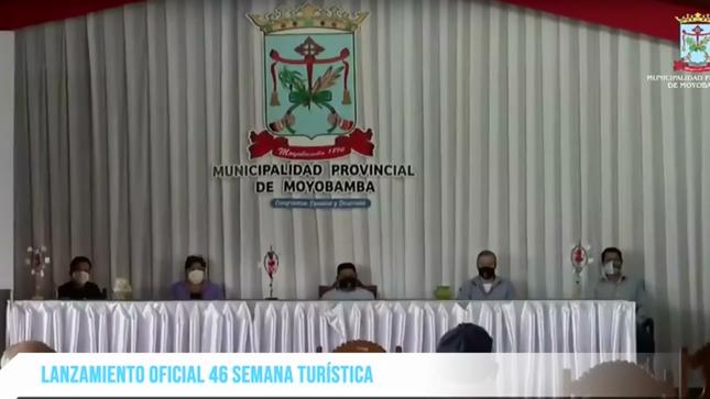 LANZAMIENTO VIRTUAL DE LA 46 SEMANA TURISTICA DE MOYOBAMBA