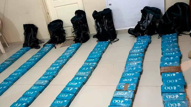 Piura: Fiscalía realizó operativo contra crimen organizado e incautó más de 118 kilos de cocaína