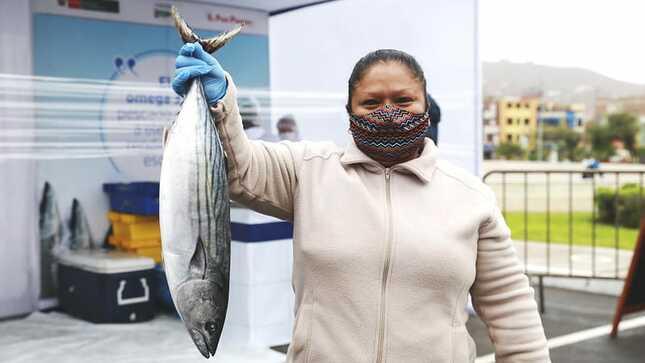 """Sociedad Nacional de Pesquería y Produce presentan programa nutricional """"Pescado en casa"""""""