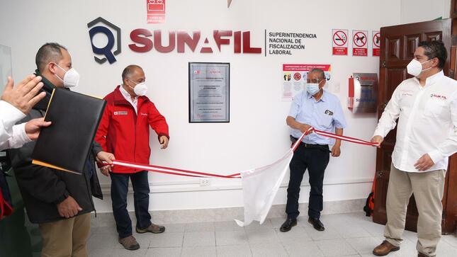 SUNAFIL amplía cobertura nacional con inauguración de la intendencia regional en Amazonas