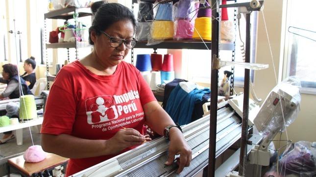 Impulsa Perú promueve inserción laboral de poblaciones vulnerables