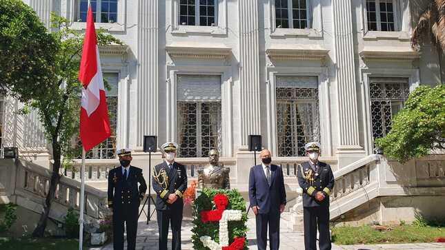 Conmemoracion Del 199 Aniversario De La Marina De Guerra Del Peru Y 141 Del Combate Naval De Angamos Gobierno Del Peru