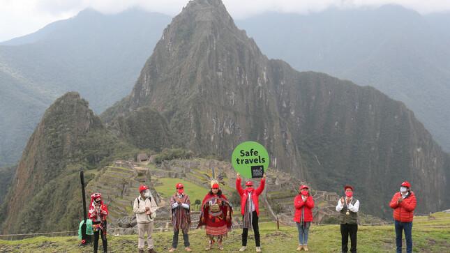 """Premier Martos: Sello internacional """"Safe Travels"""" garantiza al Perú como destino turístico seguro ante el COVID-19"""