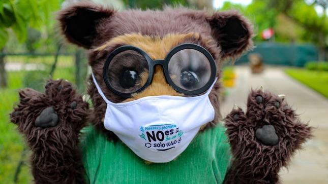 """""""Nuestro planeta no es de un solo uso"""": iniciativa del Minam busca reducir contaminación por mascarillas y envases desechables en el país"""
