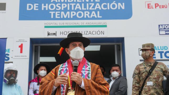 Premier Walter Martos: Seguimos optimizando la respuesta sanitaria a nivel nacional
