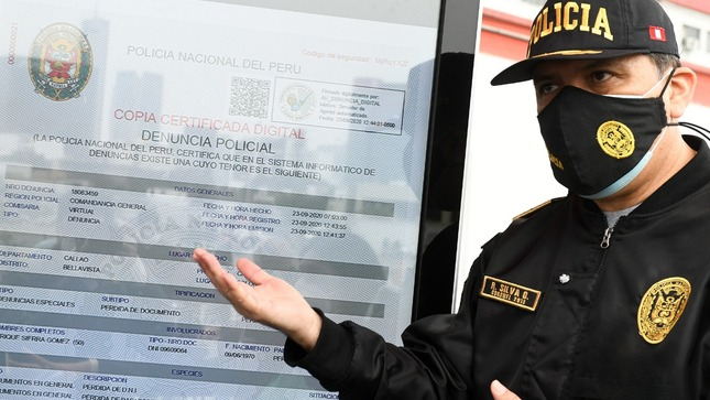 Más de 13 mil denuncias policiales digitales se tramitaron en tres semanas