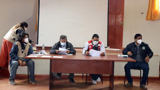 SE CONSTITUYÓ LA COMISIÓN TÉCNICA PARA LA GESTIÓN DE PATRIMONIO CULTURAL DE VILCAS HUAMÁN