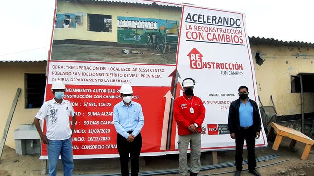 MPV LOGRA TRANSFERENCIA DE 55.8 MILLONES PARA 27 OBRAS DE RECONSTRUCCIÓN