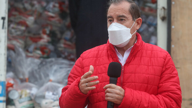Presidente del Consejo de Ministros garantiza continuidad en la entrega de víveres para las familias más vulnerables y afectadas por la pandemia