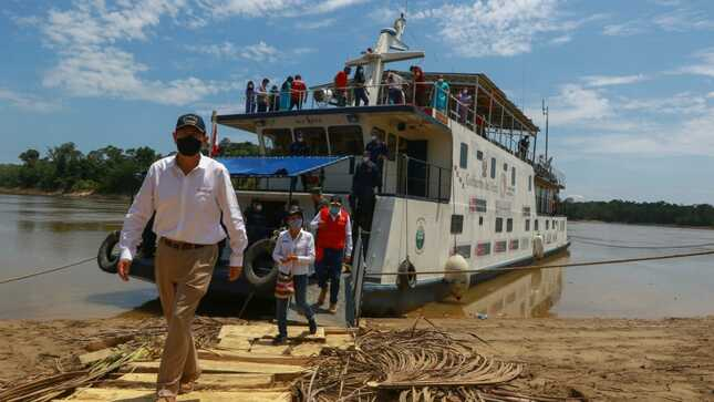 Jefe de Estado en Loreto: Autoridades deben impulsar el progreso y desarrollo del país que beneficie principalmente a los más olvidados