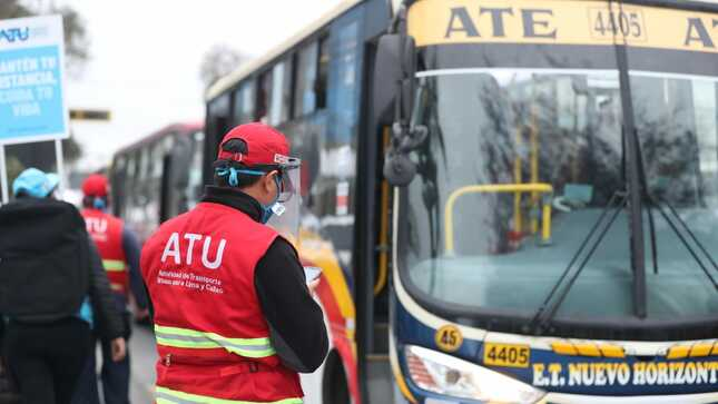 Actualización del registro del servicio de transporte regular de personas