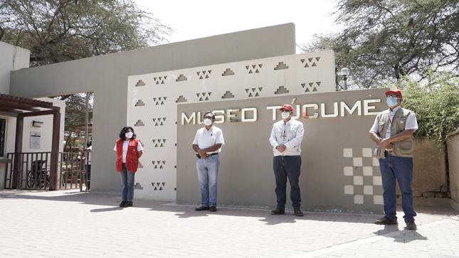 Tres museos ya atienden gratuitamente en Lambayeque