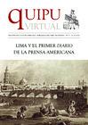 """Vista preliminar de documento Quipu Virtual Nº 21 : """"""""Lima y el primer diario de la prensa americana"""""""""""