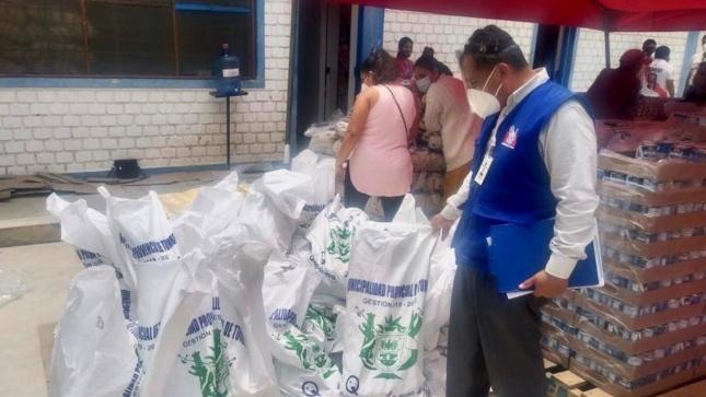 Defensoría del Pueblo: se debe garantizar cumplimiento de protocolos sanitarios en almacén de alimentos de Tumbes