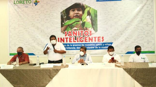 Cuna Más y región Loreto renuevan el compromiso de trabajar por la primera infancia loretana y del país