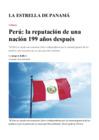 Vista preliminar de documento Artículo del Embajador del Perú en Panamá Jorge Raffo Carbajal con motivo de Fiestas Patrias