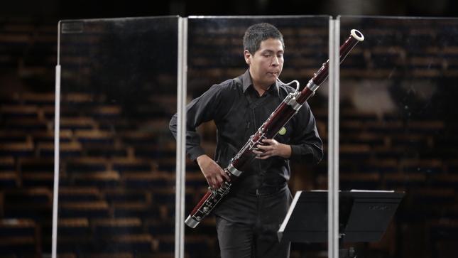 Gran Teatro Nacional y Cultura 24 transmitirán el recital  ¡Vientos! de la Orquesta Sinfónica Nacional Juvenil Bicentenario