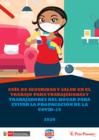 Vista preliminar de documento Guía de Seguridad y Salud en el Trabajo para Trabajadoras y Trabajadores del Hogar para evitar la propagación de la COVID-19