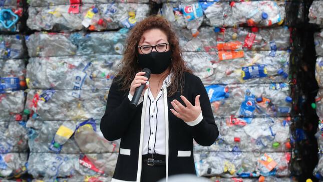 """Ministra Kirla Echegaray: """"Acuerdos de Producción Limpia son una exitosa apuesta por la economía circular"""""""