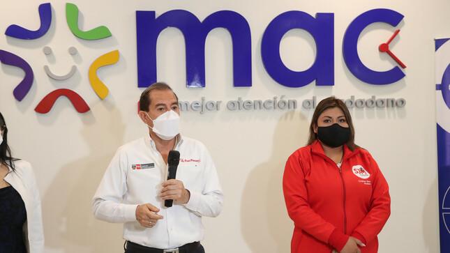 Premier Walter Martos inaugura nuevo MAC de Lima Sur