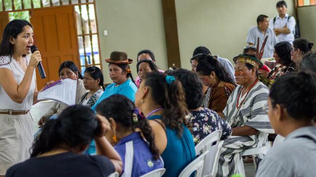 Conocimientos ancestrales de comunidades indígenas son un valioso aporte en actualización de la Política Nacional del Ambiente