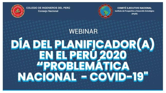 Ceplan participó en webinar sobre perspectivas del planeamiento en el país