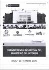 Vista preliminar de documento INFORME DE TRANSFERENCIA DE GESTIÓN POR CAMBIO DE MINISTRO - JORGE MONTOYA PÉREZ