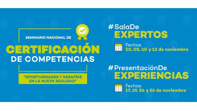 Anuncian Seminario Nacional de Certificación 2020 y feria virtual de experiencias