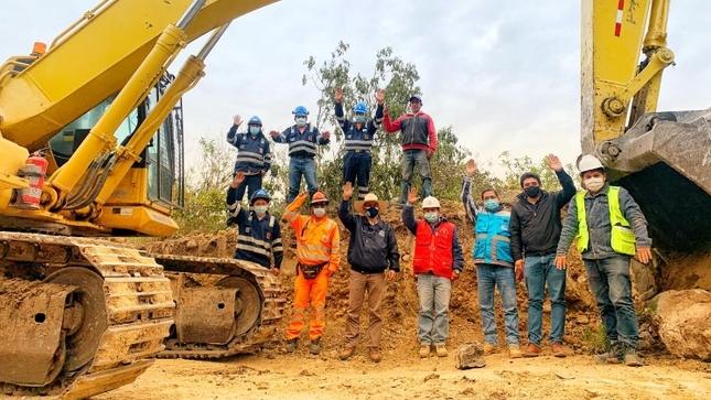 En 9 frentes de trabajo se ejecuta carretera Bambamarca – Marañón