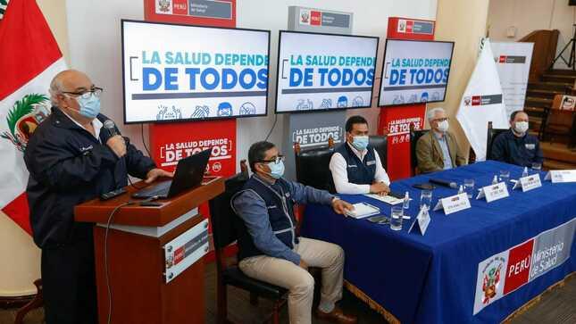 Minsa toma medidas de control frente a casos de difteria en Lima